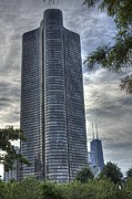 Lake Shore Drive Prints - Lake Point Tower Print by David Bearden