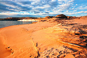 Desert Lake Prints - Lake Powell Serenity Print by Thomas R Fletcher