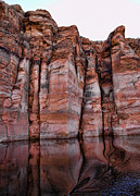 Lake Powell Water Canyon Print by Jon Berghoff