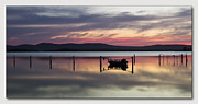 Canon 7d Digital Art Framed Prints - Lake RGB 01 Framed Print by Kevin Chippindall