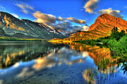 Idaho Scenery Posters - Lake Sunrise Poster by Scott Mahon