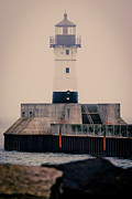 Lake Superior Prints - Lake Superior Lighthouse Print by Shutter Happens Photography