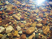 Caroline Ferrante - Lake Superior Rock Beach...