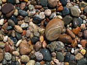 Agate Beach Posters - Lake Superior Stones Poster by Don Newsom