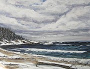 Cynthia Langford - Lake Superior Winter...