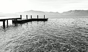 Dock Acrylic Prints - Lake Tahoe - Pier of Dreams by Brad Scott