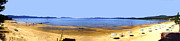 Panoramic Digital Art - Lake Tahoe  by The Kepharts