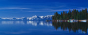 Lake Tahoe Reflections Print by Vance Fox