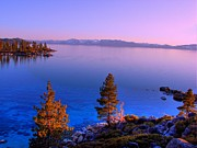 Amazing Sunset Metal Prints - Lake Tahoe Serenity Metal Print by Scott McGuire