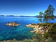 Lake Photography Framed Prints - Lake Tahoe State Park Nevada Framed Print by Scott McGuire