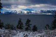 Lake Tahoe Storm Print by Lance Flake