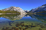 Mountain Range Photos - Lake Tenaya by A L Christensen
