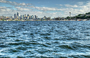 Lake Union Prints - Lake Union Print by Kyla Applegate