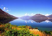 Nz Prints - Lake Wakatipu Print by Kevin Smith