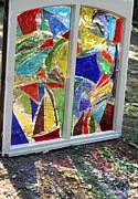 Lake Window Print by Pat Purdy