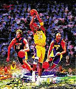 Lakers Digital Art - Lakers2009 by Rich Velasco