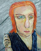 Sullen Paintings - Lakewood Lady by John Barney