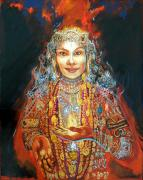 Hindu Goddess Originals - Lakshmi by Lara B Sorensen