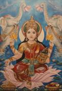 Lakshmi Framed Prints - Lakshmi Framed Print by Sabrina Phillips