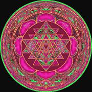 Lakshmi Yantra Mandala Print by Svahha Devi