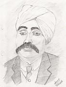Fighter Pastels - Lala Lajpat Rai by Archit Singh