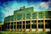 Green Bay Packers Framed Prints - Lalalalala Lambeau Framed Print by Joel Witmeyer