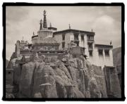 India Metal Prints - Lamayuru Monastery Metal Print by Hitendra Sinkar