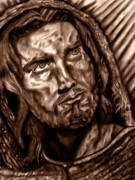 Jesus Drawings - Lamb Of God by Herbert Renard