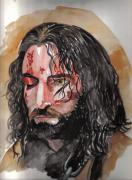 Jesus Painting Originals - Lamb of God by Torben Gray