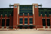 Nfl Prints - Lambeau Field - Green Bay Packers Print by Frank Romeo