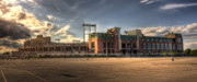 Clay Metal Prints - Lambeau Field Metal Print by Joel Witmeyer