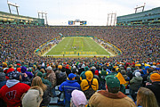 Lambeau Field Framed Prints - Lambeau Field Framed Print by Steve Sturgill