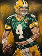 David Courson Art - Lambeau Legend by David Courson