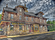 Brick Originals - Lambertville Train Station by Arnie Goldstein