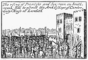 Pitchfork Prints - Lambeth Palace, 1640 Print by Granger