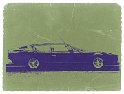 Old Digital Art Prints - Lamborghini Espada Print by Irina  March