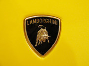 Print Card Photo Prints - Lamborghini Logo Print by Sydney Alvares