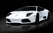 Super Car Prints - Lamborghini Murcielago LP640 Coupe Print by Oleksiy Maksymenko