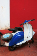 Beautiful Digital Art Originals - Lambretta by Sydney Alvares