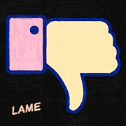 Facebook Posters - Lame . Painterly Poster by Wingsdomain Art and Photography