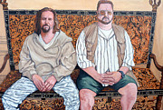 Walter Sobchak Paintings - Lament for Donny by Tom Roderick