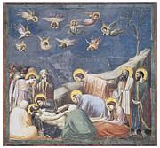 Lamentation Print by Giotto Di Bondone
