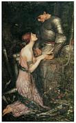 Lamia Print by John William Waterhouse