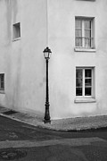 French Photo Originals - Lamp post by Hugh Smith