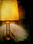 Night Lamp Prints - Lamp Print by Silvia Ganora
