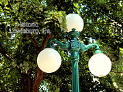 Lewisburg Prints - Lamppost Print by Penny Johnson
