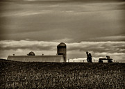 Amish Prints - Lancaster Farm 2 Print by Jack Paolini