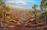 Landscapes Painting Originals - Land like no other  by Michael Mrozik