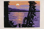 Sunrise Reliefs Originals - Land of the Midnight Sun by Philip Carrico