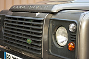 4x4 Art - Land Rover Defender 90 by Georgia Fowler